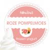 Roze Pompelmoes vers getapt